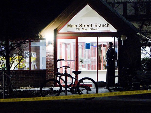 Crossbow Murder at Main Street Branch Library