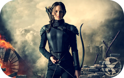 Katniss Everdeen in Mockingjay Part 1