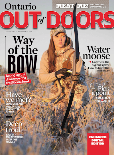 Ontario Out of Doors Magazine Cover