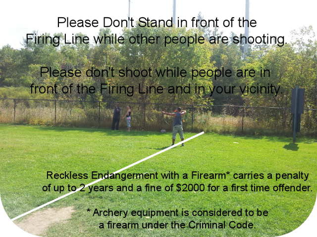 Reckless Endangerment at the Archery Range