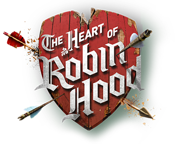 The Heart of Robin Hood Logo